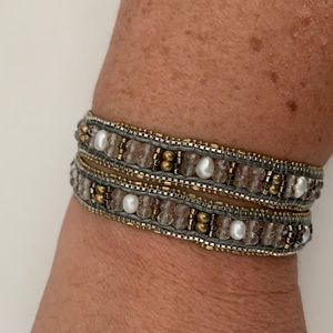 Silpada Sterling 'Layers of Luxury' Wrap Bracelet
